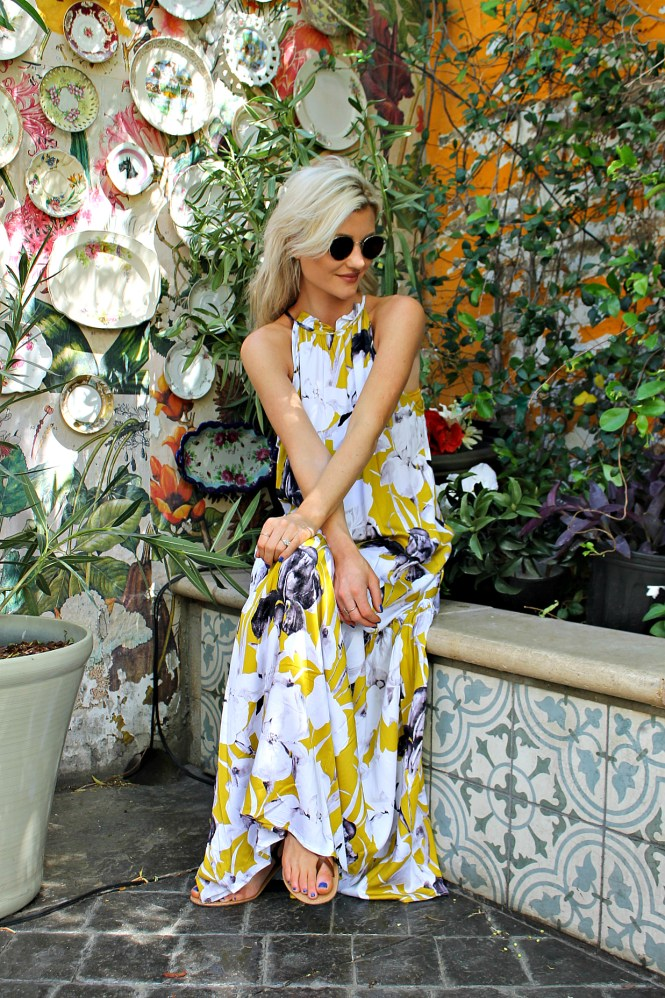 floral, dress, maxi, shein, budget, friendly, spring style, outfit, fashion, trend, summer, fashion blogger, las vegas, the nomis niche