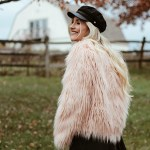 FAUX FUR JACKET UNDER $40