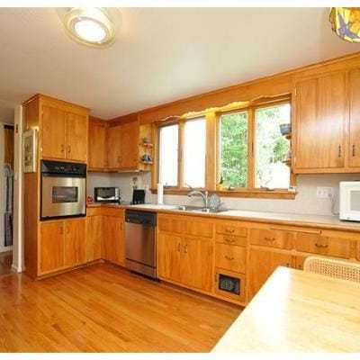 """Our 1960's Kitchen """"Before"""""""