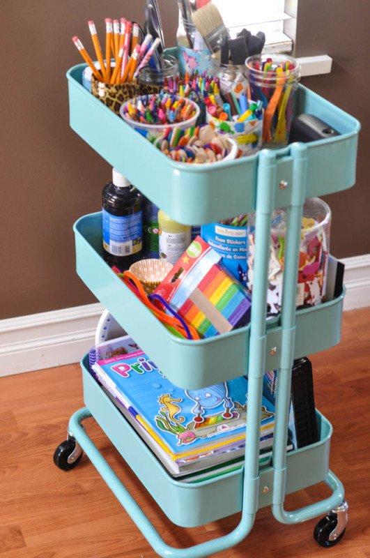 The-Art-Cart-an-Ikea-shelf-Suburble.com