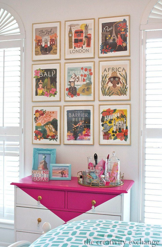 Turn-wall-calendar-art-into-beautful-gallery-walls.-The-Creativity-Exchange