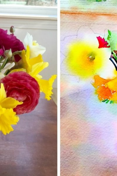 DIY Watercolor Art