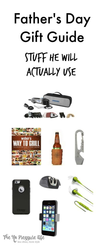 Get the dad in your life gifts that he will really use! Here are 8 practical Father's Day gifts under $100.