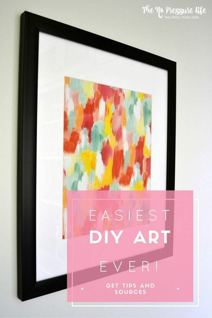 Wrapping paper art is an EASY and CHEAP way to decorate walls! Get tips and shopping sources for pretty paper. From www.thenopressurelife.com