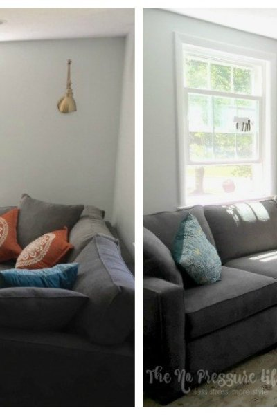 How to Decorate Above a Corner Sectional: 3 Pretty Ways to Fill the Space