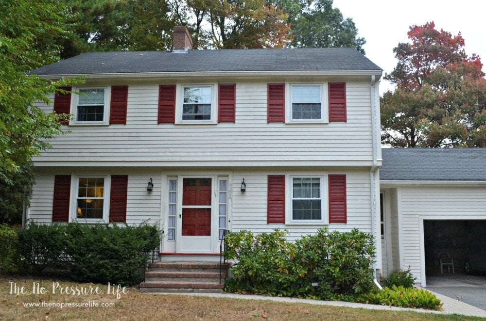 Garrison Colonial Makeover How We Transformed Our 1960 S Classic