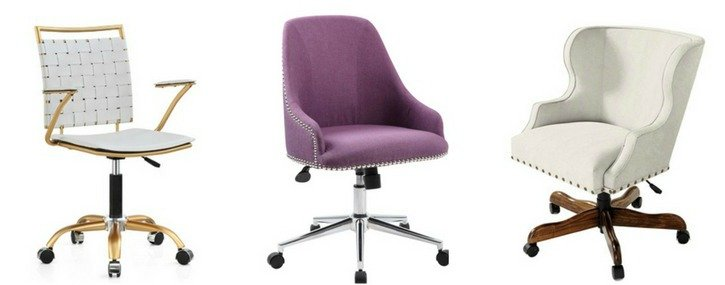 Lovely How To Choose And Where To Buy A Feminine Desk Chair.