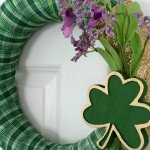 How to Make a St. Patrick's Day Wreath in 30 Minutes