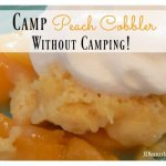 Peach Cobbler Recipe With An Unusual Ingredient