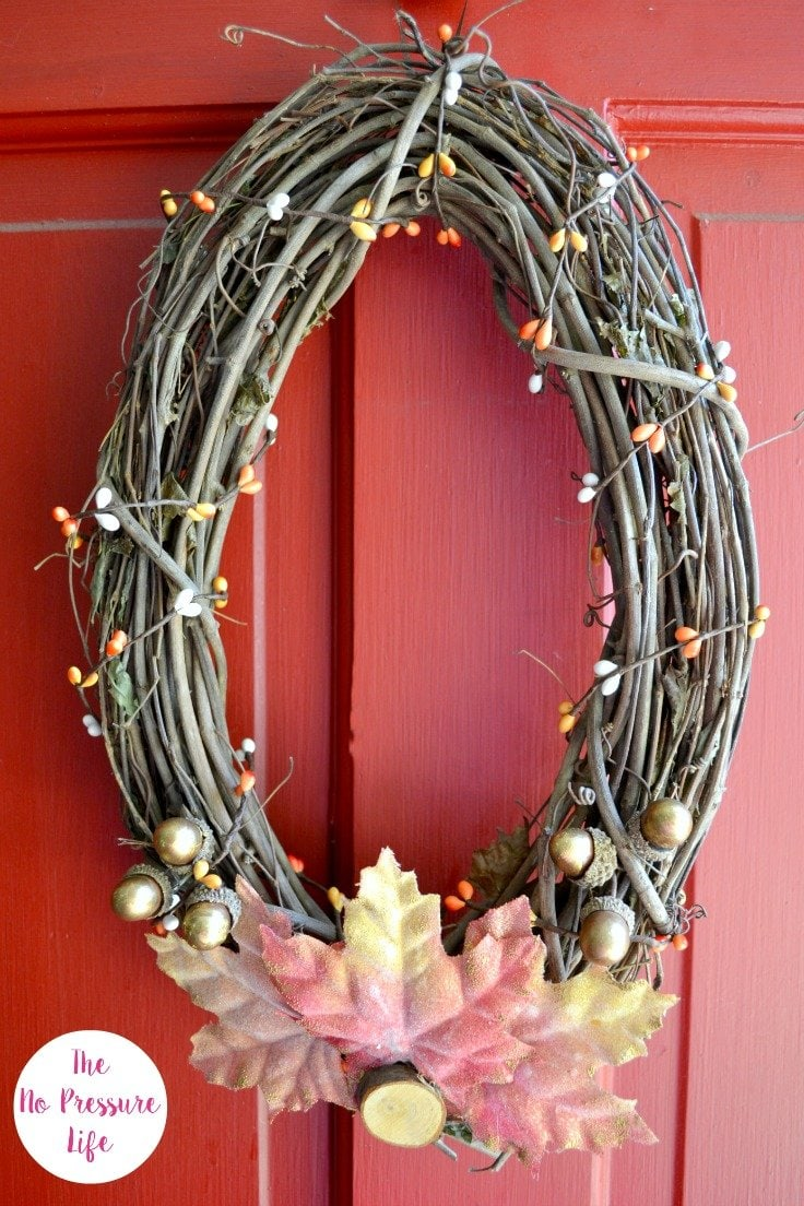 How to Make an Easy DIY Fall Wreath