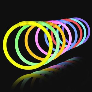 glowstick bracelets - Halloween treats for kids