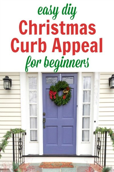 3 Easy Christmas Curb Appeal Ideas for Beginners – In Less Than An Hour!