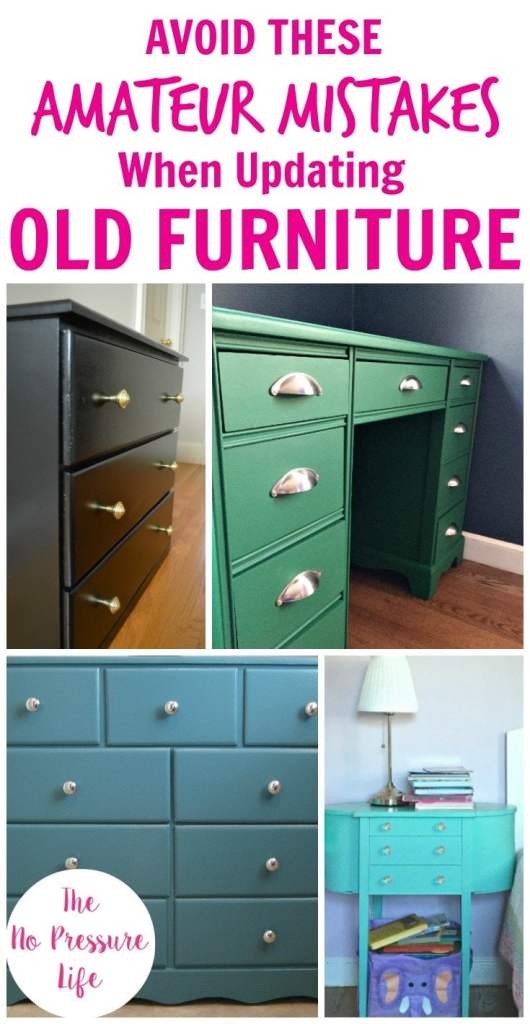 How to Update Old Furniture - 5 Mistakes to Avoid