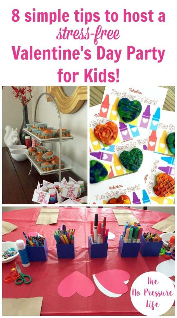 These simple tips will help you host a Valentine's Day party for kids that's stress-free and fun! Get ideas for Valentine's Day activities and crafts for kids, plus menu ideas.