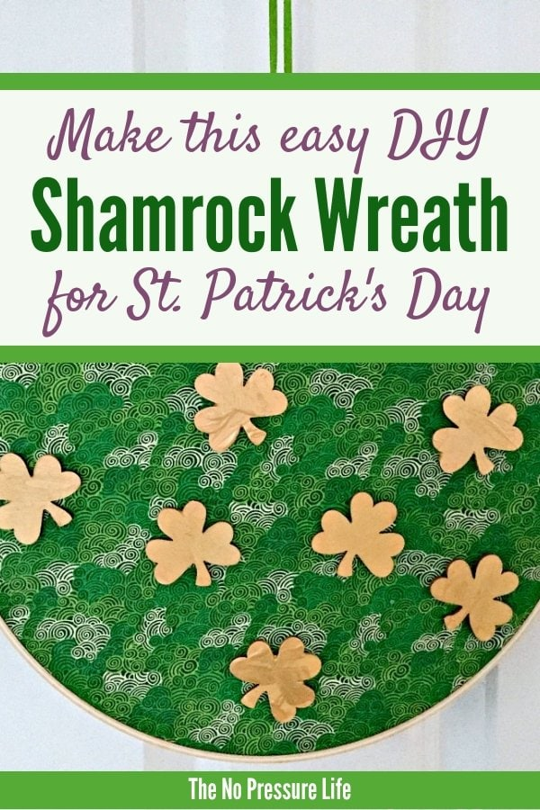 Shamrock craft - DIY St. Patrick's Day craft