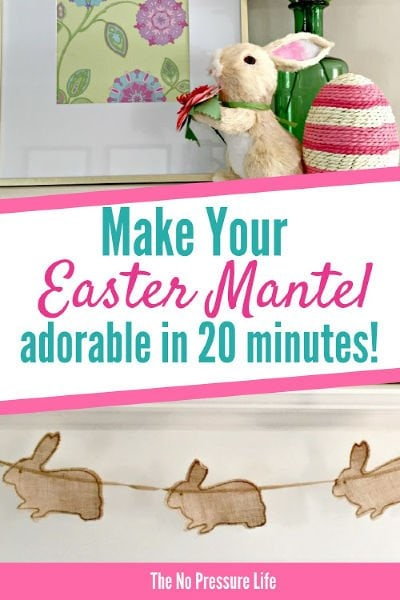 Easter Mantel Decorating Ideas for Spring