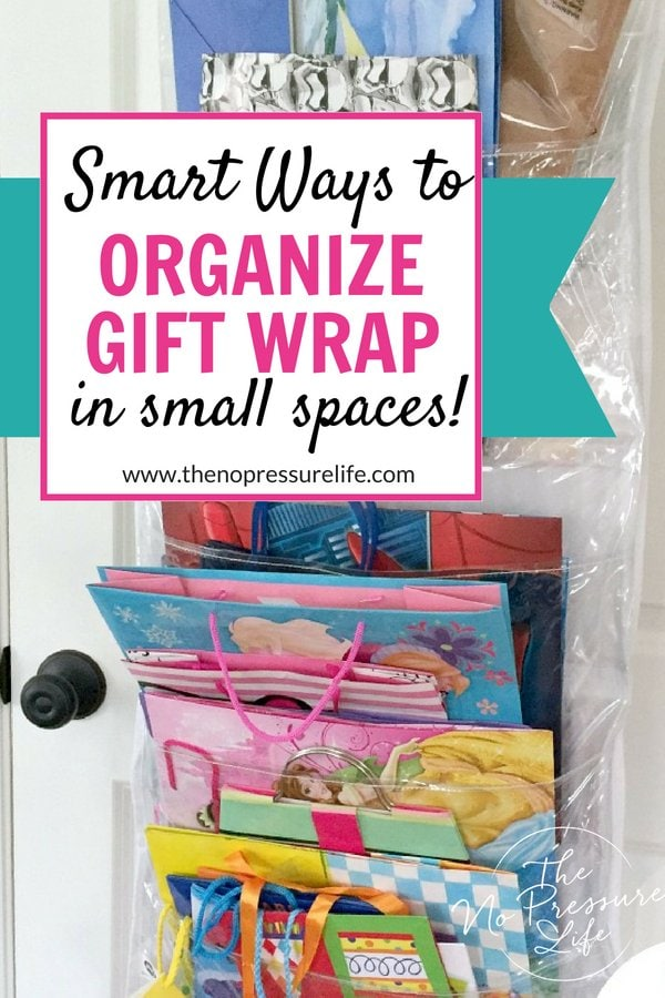 Wrapping paper storage ideas - how to organize gift wrap easily