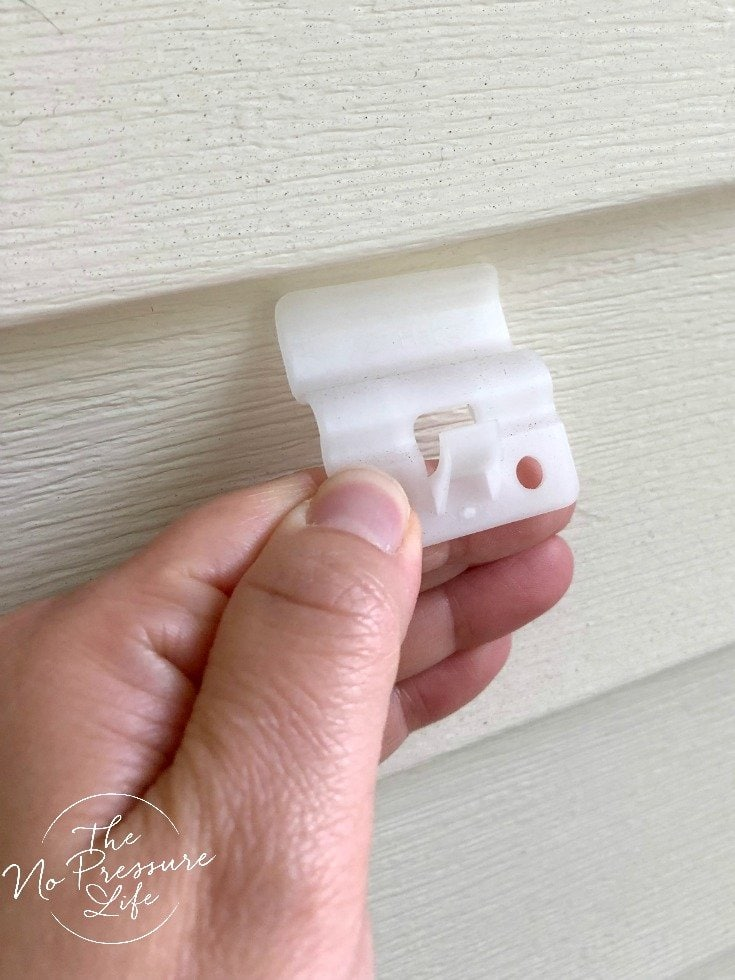 Marvelous Hooks To Hang Things On Vinyl Siding Without Nails