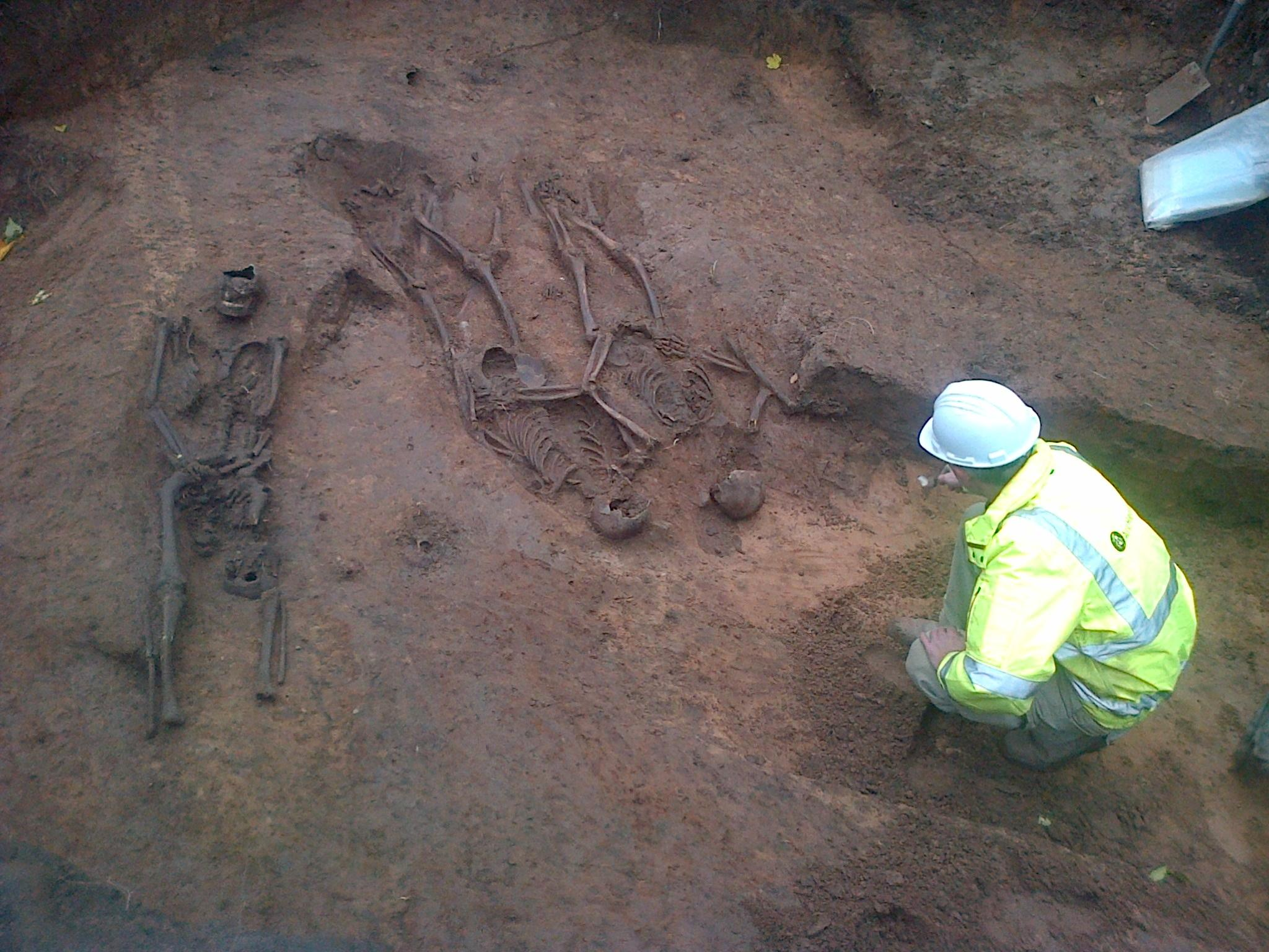 War of the Roses skeletons discovery - Lancastrians executed by Yorkists?