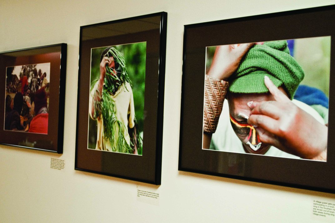Photographs in NKU's Anthropology Museum