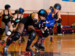 Roller derby takes over BOKC