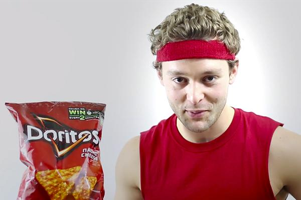 Letsinger in his commercial he submitted through Doritos competition.