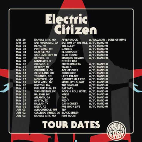 electric citizen tour dates