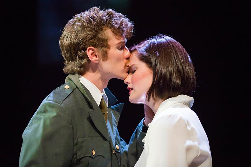 Hunter  Henrickson and Victoria  Hawley in 'Encore, Encore.'