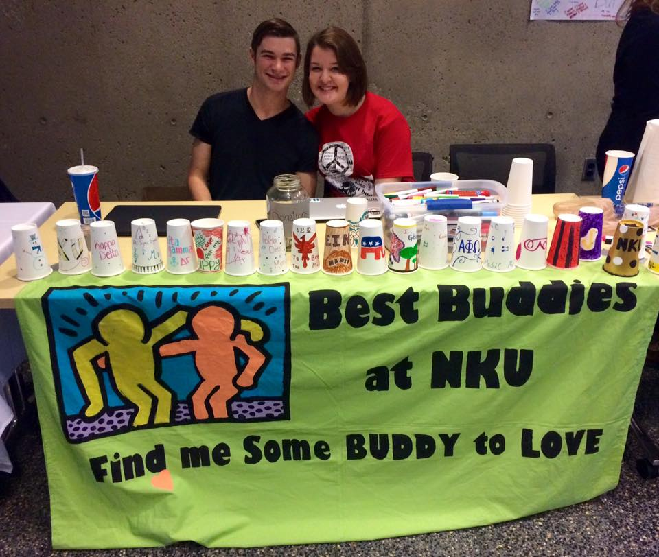 By joining Best Buddies, Benjamin Mulberry(left) found a way to share his passion and spread awareness for people with special needs.