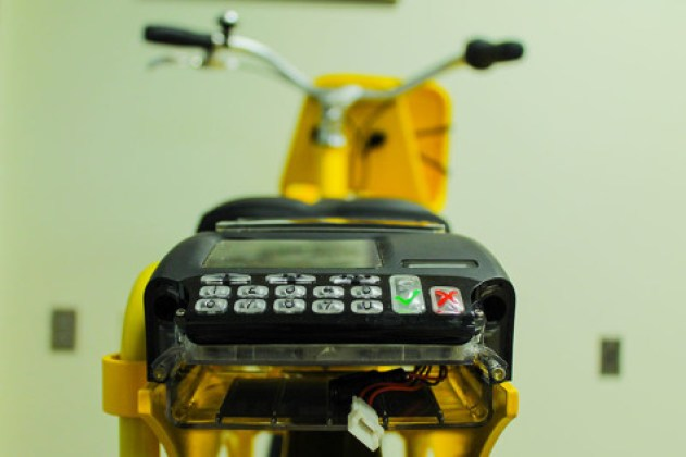 Each bicycle is equipped with a software system, which includes a GPS. This system makes theft nearly impossible.