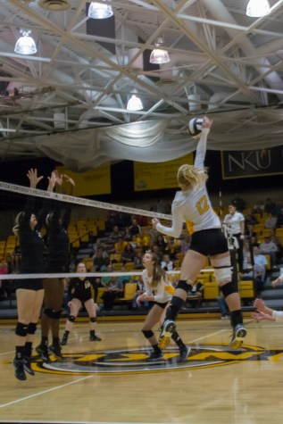 Volleyball falls to Lipscomb in home opener