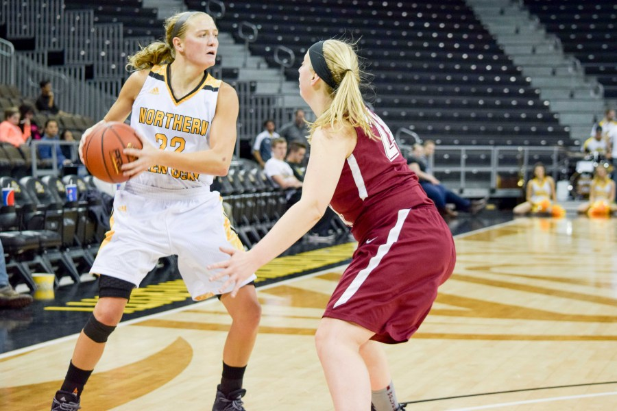 NKU%27s+Kelley+Wiegman+%2822%29+had+13+points+Wednesday+in+a+win+over+Southern+Miss.