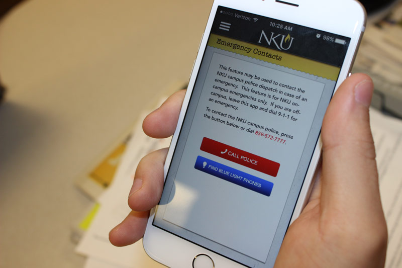 Gaffin said anyone can sign up to receive the Norse Alert through NKU's app, which has a safety subsection that links to the signup page and helpful tips.