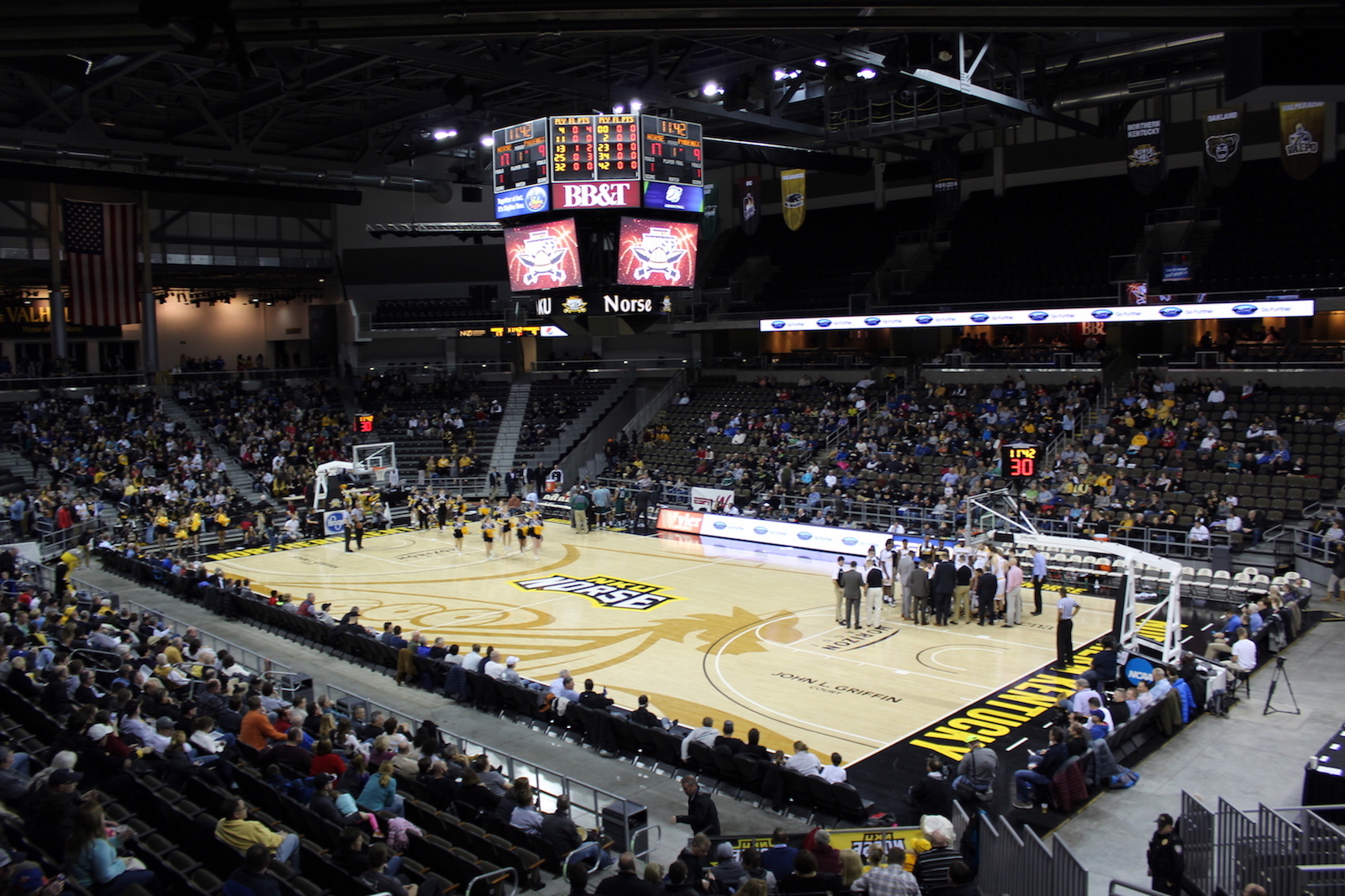 BB&T Arena, home of the NKU Norse basketball.