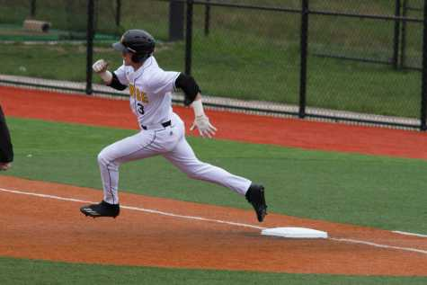 Baseball claim three of four against Quincy
