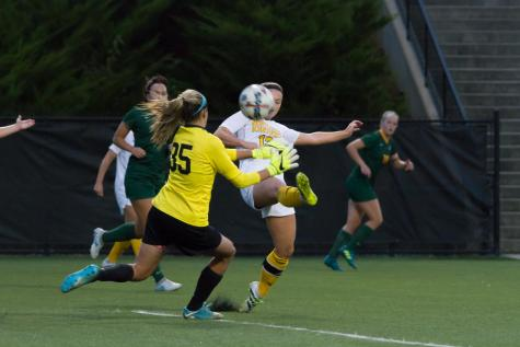Frey's second half goal lifts Norse over Raiders
