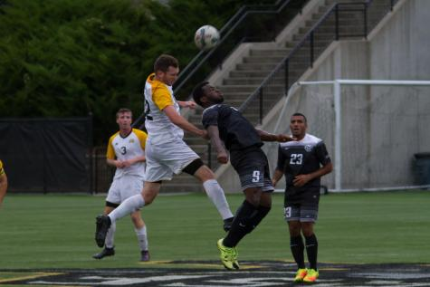 Men's soccer season ends in quarterfinals to Wright State