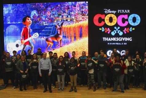 "Pixar designer breathes life into ""Coco"" in Digitorium"