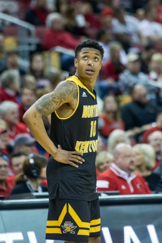 Hill too large as NKU falls short at Illinois