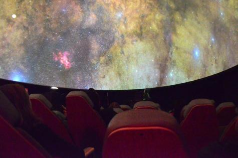 Weekend planetarium shows smash attendance records
