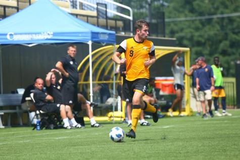 Men's soccer captures two wins