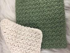 Textured Crochet Dishcloth