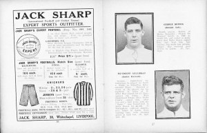 A Luton Town matchday programme from RSG's playing days