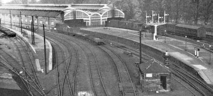 Alnwick Station in the early 1950s