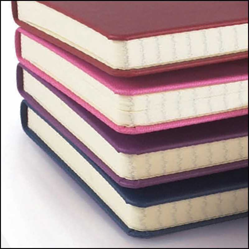 Rounded Corners on Customised Moleskine Notebooks with Soft Cover available from The Notebook Warehouse