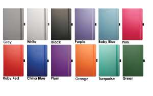 Colours available for Matra Corporate Diaries from The Notebook Warehouse
