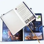Photograph of Specially Printed Pages inside Promotional Notebooks from The Notebook Warehouse Website, #1 for Company branded notebooks