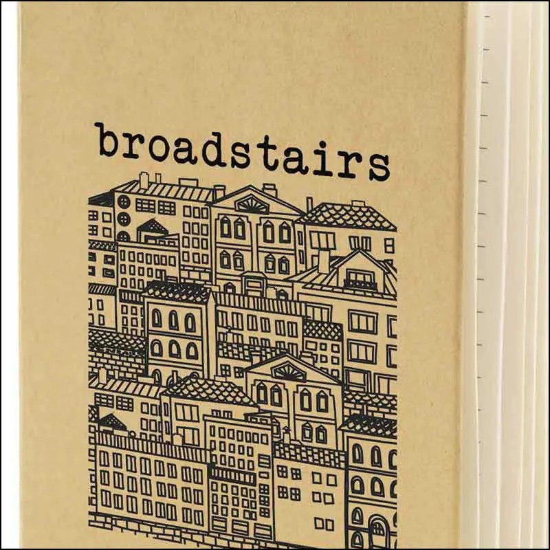 Image showing spot Print on Broadstairs Eco Friendly Branded Notebooks