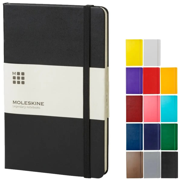 Image showing Moleskine Branded Notebooks collection from The Notebook Warehouse