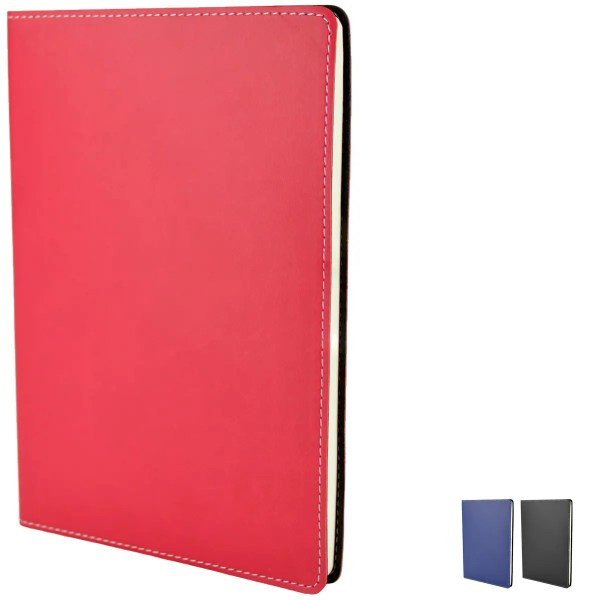 Image showing Stitch Edge Custom Notebooks from The Notebook Warehouse available in 3 Colours